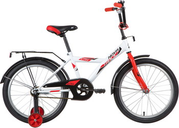 Велосипед Novatrack 20'' ASTRA белый 203ASTRA.WT20 велосипед novatrack 14 astra чёрный 143 astra bk5