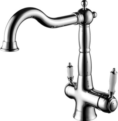 Кухонный смеситель Lemark Comfort LM3065C для кухни с подключением к фильтру с питьевой водой