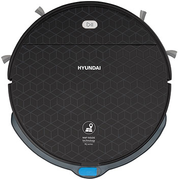Робот-пылесос Hyundai H-VCRQ60 черный