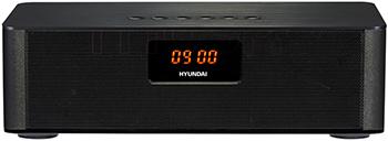Радиобудильник Hyundai, H-RCL340 черный, Китай  - купить со скидкой