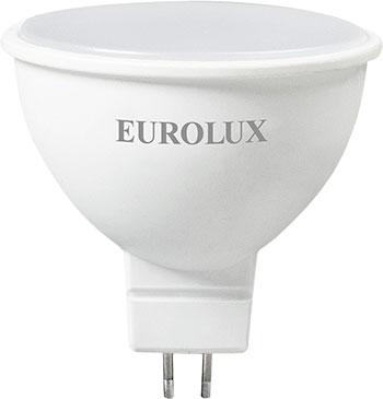 Лампа светодиодная Eurolux LL-E-MR16-7W-230-4K-GU5.3 (рефлектор 7Вт нейтр. GU5.3) белый canon e 30 4k page 7