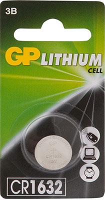 Литиевые дисковые батареи GP CR1632-7CR1 10/100/900