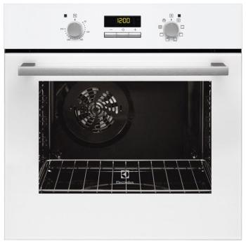 Встраиваемый электрический духовой шкаф Electrolux EZB 55420 AW встраиваемый холодильник electrolux ern 92201 aw белый