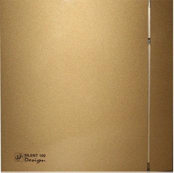 Вытяжной вентилятор Soler & Palau Silent-100 CZ Design 4C (золото) 03-0103-185