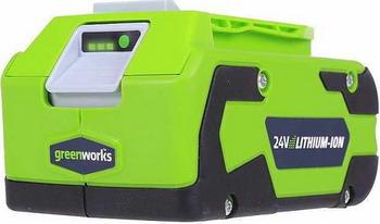Аккумулятор Greenworks G 24 B4 2902807 футболка j b4 j b4 jb003emzyq60