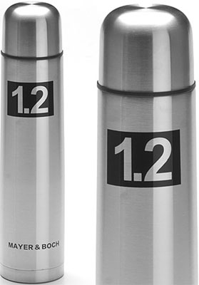 Термос Mayer&Boch 27610 1 2 л нерж/сталь мет/колба MB (х24) термос mb steel 0 5 л 23 8x7 см оникс 4011 01 002 monbento