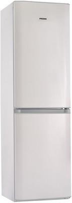 Двухкамерный холодильник Позис RK FNF-174 белый с серебристыми накладками цена и фото