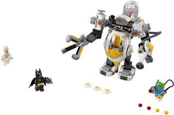 Конструктор Lego Batman Movie: Бой с роботом Яйцеголового 70920 все цены