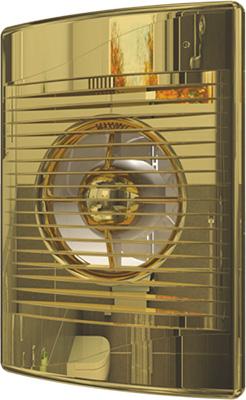 Вентилятор осевой вытяжной с обратным клапаном DiCiTi D 125 декоративный (STANDiCiTi DARDiCiTi D 5C GolDiCiTi D)