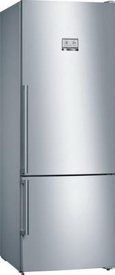 Двухкамерный холодильник Bosch KGN 56 HI 20 R встраиваемый двухкамерный холодильник bosch kin 86 vs 20 r