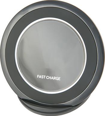 Беспроводная зарядка Red Line Qi-03 1.67A Fast Charge (подставка) черный