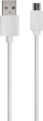 Фото - Кабель Red Line USB-micro USB 2A 20 см белый bd237 npn 2a 100v to 126
