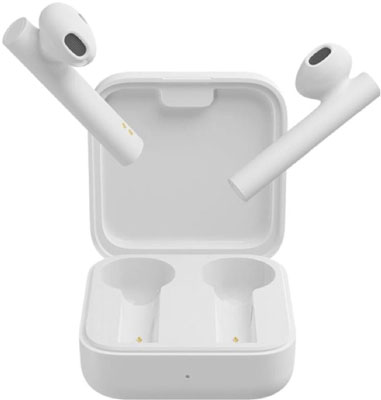 Беспроводные наушники Xiaomi Air 2SE (Mi True Wireless Earphones 2 Basic) белые TWSEJ08WM (BHR4089GL) наушники xiaomi airdots mi true wireless earphones белые