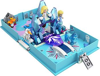 Конструктор Lego Princess ''Книга сказочных приключений Эльзы и Нока'' 43189 конструктор lego disney princess 43176 книга сказочных приключений ариэль