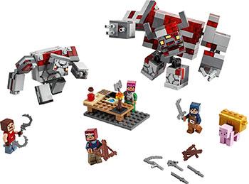 Конструктор Lego Minecraft ''Битва за красную пыль'' 21163