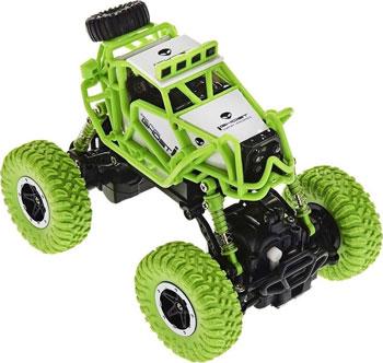 Машина раллийная 1 Toy Бигвил на р/у Драйв Аккум. 3.6V 4WD 14км/ч зелено-белый недорого