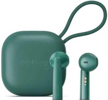 Фото - Наушники беспроводные 1More Omthing AirFree Pods True Wireless Headphones Green (EO005-Green) green sexy v neck high waist irregular hem maxi dress