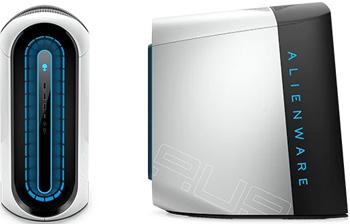 ПК Dell Alienware Aurora R12 (R12-4687) белый dell alienware aurora r12 core i9 11900f 32gb ddr4 1tb ssd nvidia rtx 3080 10gb gddr6x 2yw win 10 home dark side of the moon wi fi bt kb