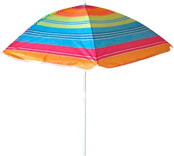 Пляжный зонт Ecos BU-03 160*6 см складная штанга 165 см фото