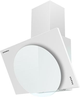 лучшая цена Вытяжка MAUNFELD TOWER L (PUSH) 50 Белый/БЕЛОЕ стекло