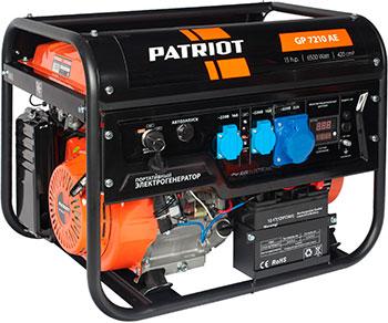 Электрический генератор и электростанция Patriot 474101590 GP 7210 AE