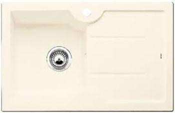 Кухонная мойка BLANCO IDESSA 45 S (чаша слева) КЕРАМИКА глянцевый магнолия schock мойка кухоннаяschock signus 90c c 150 магнолия