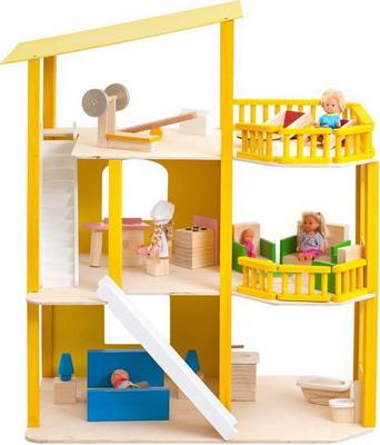 Кукольный дом Paremo Солнечная Ривьера с мебелью 21 предмет PD 216-01 цена и фото