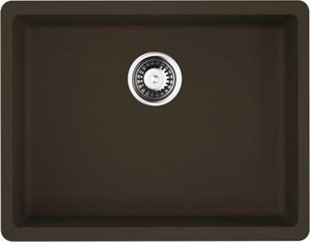 Кухонная мойка Omoikiri Kata 54-U-DC Artgranit/темный шоколад (4993409) крепления для сноуборда salomon vendetta цвет черный размер m 39 5 44