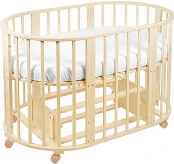 Детская кроватка Sweet Baby Delizia Avorio (Слоновая кость) с маятником 383 065 пеленальный комод sweet baby venerdi avorio слоновая кость жираф 382 038