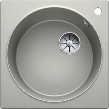 Кухонная мойка Blanco ARTAGO 6 жемчужный с отводной арматурой InFino 521760 кухонная мойка blanco artago 6 серый беж с отводной арматурой infino 521764