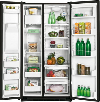 цены Холодильник Side by Side Iomabe ORE 24 CGHFNM черный