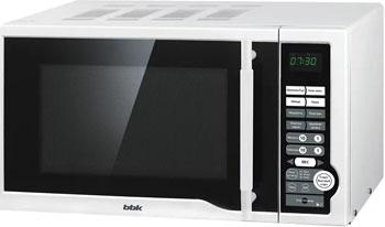 Микроволновая печь - СВЧ BBK BBK 20 MWS-770 S/W белая supra микроволновая печь mws 2103ms 700 вт 21л