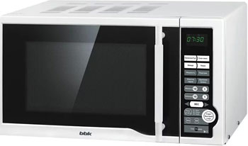 Микроволновая печь - СВЧ BBK BBK 20 MWS-770 S/W белая цена и фото
