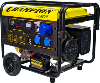 Электрический генератор и электростанция Champion GG 6501 E ATS