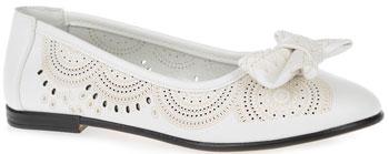 Туфли Зебра 10506-2 32 размер цвет белый