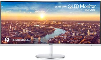 ЖК монитор Samsung C 34 J 791 WTI (LC WTIXCI) gl.WHITE