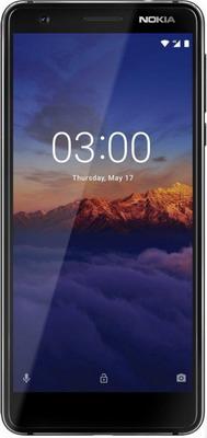 Смартфон Nokia 3.1 Dual Sim черный смартфон nokia 6 dual sim синий