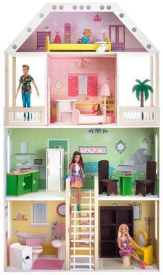 цена на Кукольный домик Paremo Поместье Шервуд (с мебелью) PD 318-01