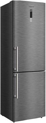 Двухкамерный холодильник Hiberg RFC-302 DX NFX двухкамерный холодильник hiberg rfc 311 dx nfgs