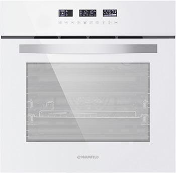 Встраиваемый электрический духовой шкаф MAUNFELD, EOEH.5811 W, Китай  - купить со скидкой