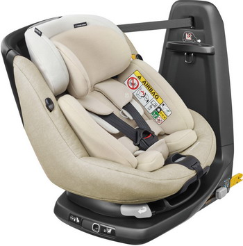 Автокресло Maxi-Cosi Axiss Fix Plus Nomad Sand (45 см-105 см) 8025332111 автокресло детское maxi cosi cabrio fix robin red 61708990