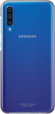 Чехол (клип-кейс) Samsung A 50 (A 505) Gradation Cover violet EF-AA 505 CVEGRU цена и фото