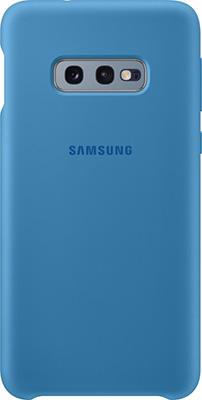 Чехол (клип-кейс) Samsung S 10 e (G 970) SiliconeCover blue EF-PG 970 TLEGRU