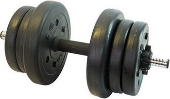 Гантеля Lite Weights 10 кг черный 3103 CD утяжелители кистевые lite weights 0 5 кг х 2 шт