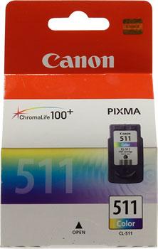 Картридж Canon CL-511 2972 B 007 Цветной