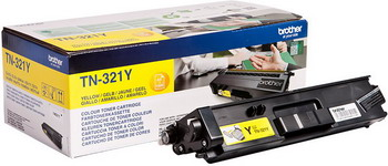 Тонер-картридж Brother TN 321 Y желтый картридж mak© tk 130 черный для лазерного принтера