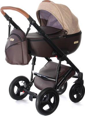 Коляска Everflo SOFT chocolate ПП100004368 коляска 2 в 1 everflo soft graphite пп100004367