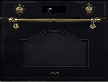 Встраиваемый электрический духовой шкаф Graude MWGK 45.0 S встраиваемый электрический духовой шкаф graude bk 60 3 s