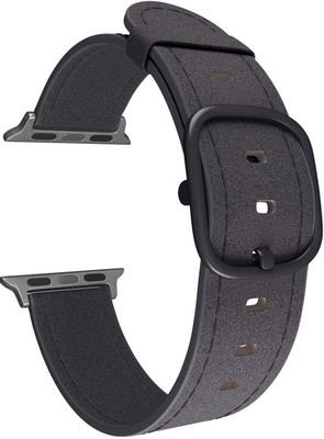 Ремешок для часов Lyambda для Apple Watch 38/40 mm MINKAR DSP-03-40 Black ремешок для часов lyambda для apple watch 42 44 mm minkar dsp 10 44 black