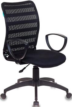 Кресло Бюрократ CH-599AXSN/32B/TW-11 черный кресло офисное бюрократ ch 599axsn tw 12